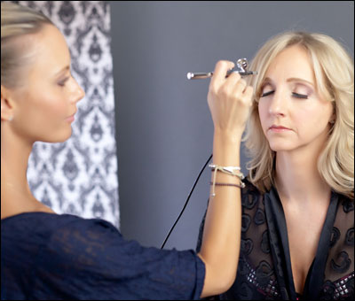 Brush  on Airbrush Makeup   Hey Gorgeous  Makeup By Tami Donaldson